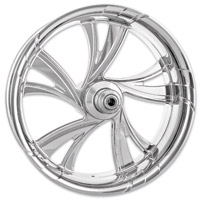 Xtreme Machine Chrome Forged Cruise Front Wheel, 23″ x 3.5″