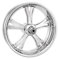 Xtreme Machine Chrome Forged Fierce Front Wheel, 23″ x 3.5″ with ABS