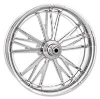 Xtreme Machine Chrome Forged Execute Front Wheel, 23″ x 3.5″