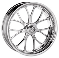 Performance Machine Heathen Chrome Non-ABS Front Wheel, 23″ x 3.5″