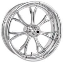 Performance Machine Paramount Chome ABS Front Wheel, 23″ x 3.5″ with ABS