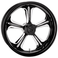 Performance Machine Wrath Contrast Cut Platinum ABS Front Wheel, 23″ x 3.5″