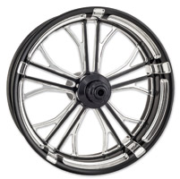 Performance Machine Dixon Contrast Cut Platinum Front Wheel, 23″ x 3.5″