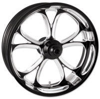 Performance Machine Luxe Contrast Cut Platinum Front Wheel, 23″ x 3.5″