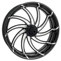 Performance Machine Supra Contrast Cut Platinum Front Wheel, 23″ x 3.5″