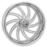 Performance Machine Supra Chrome Front Wheel, 23″ x 3.5″