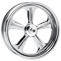 Performance Machine Wrath Chrome Front Wheel, 23″ x 3.5″