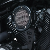 Kuryakyn Black Velociraptor Air Cleaner