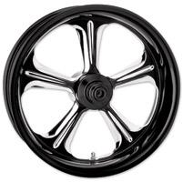 Performance Machine Contrast Cut Platinum Forged Wrath Rear Wheel, 18