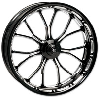 Performance Machine Contrast Cut Platinum Forged Heathen Front Wheel, 18