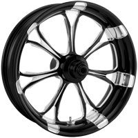 Performance Machine Contrast Cut Platinum Forged Paramount Front Wheel, 18