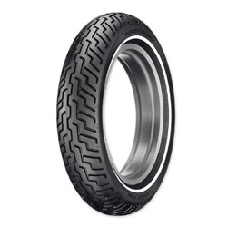 Dunlop D402 MT90B16 Narrow Whitewall Front Tire