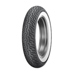 Dunlop D402 Touring MT90B16 Wide Whitewall Front Tire