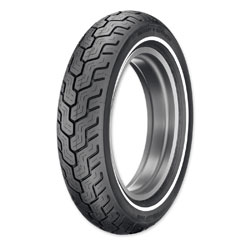 Dunlop D402 Touring MT90B16 Narrow Whitewall Rear Tire
