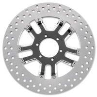 Performance Machine 11.8″ Dixon Contrast Cut Platinum Front/Rear Brake Rotor