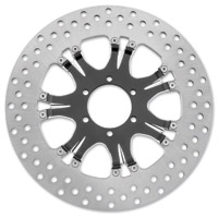 Performance Machine 11.8″ Heathen Contrast Cut Platinum Front/Rear Brake Rotor