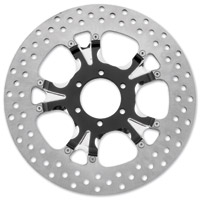 Performance Machine 11.8″ Gatlin Contrast Cut Platinum Front/Rear Brake Rotor