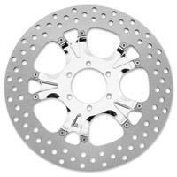 Performance Machine 11.8″ Gatlin Chrome Front/Rear Brake Rotor