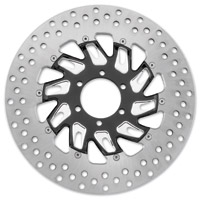 Performance Machine 11.8″ Supra Contrast Cut Platinum Front Right Brake Rotor