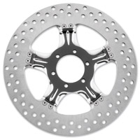 Performance Machine 11.8″ Wrath Contrast Cut Platinum Front/Rear Brake Rotor