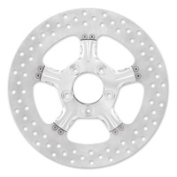 Xtreme Machine 11.8″ Fierce Chrome Front/Rear Brake Rotor