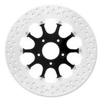 Xtreme Machine 11.8″ Launch Black Cut Xquisite Front/Rear Brake Rotor