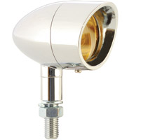 Visored Bezel Mini Bullet Lights