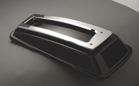 Chrome Contoured Billet Saddlebag Lid Rails