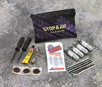 Tube/Tubeless CO<sub>2</sub> Tire Repair Kit