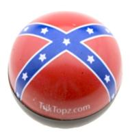 TrikTopz custom valve caps, Rebel Flag