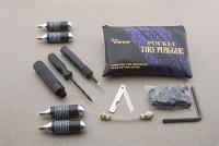 Stop & Go Pocket Tire Plugger Tubeless Kit plus CO[2] Inflation
