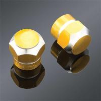 Trik Topz Gold 2-tone Anodized Valve Stem Caps