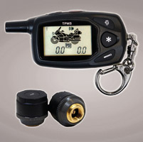 TireGard Tire Pressure Monitoring System