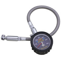 J&P Cycles® Dial Tire Gauge