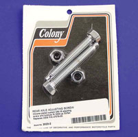 Colony Rear Axle Adjuster Bolts with Nuts