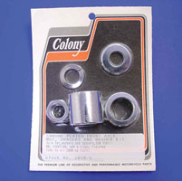 Colony Axle Spacer and Nut Kit