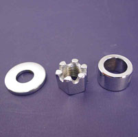 Colony Rear Axle Spacer and Nut Kit