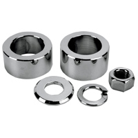 Colony Chrome Rear Axle Spacer and Nut Kit