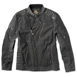 Roland Sands Design Apparel Men's Casbah Black Textile Jacket
