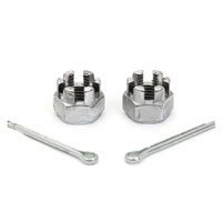 Front Axle Nut Kit