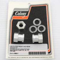 Colony Hummer Front Axle Nut Kit
