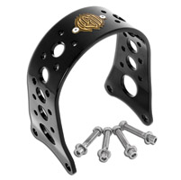 Roland Sands Design Black Tracker Front Fork Brace
