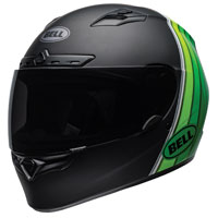 Bell Qualifier DLX MIPS Illusion Green Full Face Helmet