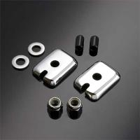 Colony Sportster Swingarm end Cover and Nut Kit