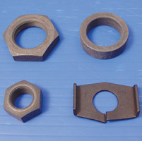 Colony Rear Axle Nut and Lock Kit