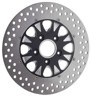 RevTech Sinister 8 'Midnight Series' Front Two-Piece Disc Brake Rotor