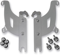 Memphis Shades Bullet Fairing Polished Trigger Lock Mount Kit