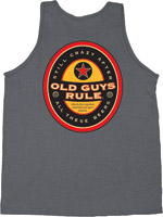 Old Guys Rule Beer Label Classic Tank