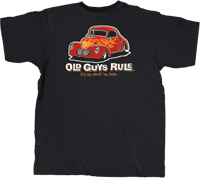 Old Guys Rule Street Rod Classic Pocket T-shirt