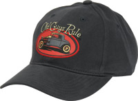 Old Guys Rule Rat Rod Cap